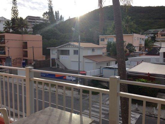 Motel Anse Vata: View from balcony.