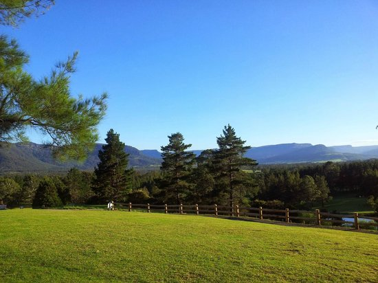 Kangaroo Valley Golf & Country Resort: View from our cabin