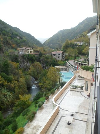 Grand Hotel Pigna Antiche Terme : View from the room