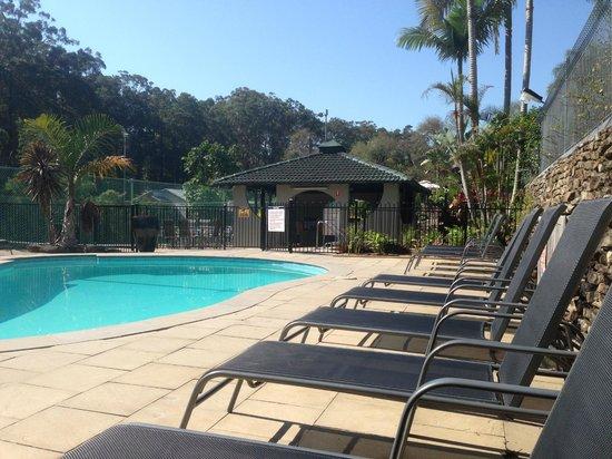 Korora Bay Village Resort : Heat pool