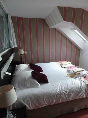 Le Regent Hotel : la chambre