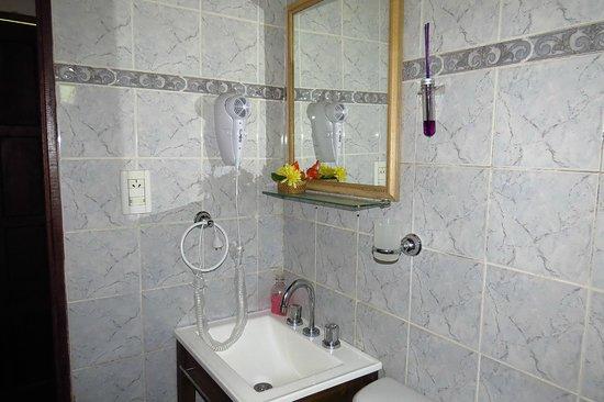 Rancho Iberá: Vista parcial del baño