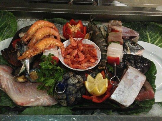 Gaviao Novo: Fish tray of the day :p