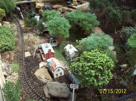 Lil More Of The Train Display Beech Creek Botanical Garden Nature Preserve