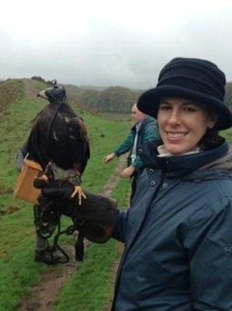 Edinburgh Falconry & Fishing: Kass and Kristen