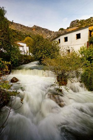 Molino del Santo: The Molino's Roaring Mill Stream