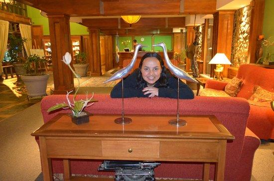 Quijote Hotel: Recepcion