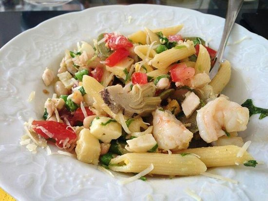 Giallo Limone : Penne all insalata