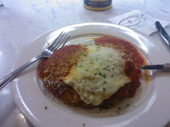 Pomodoro Pizzeria & Trattoria: Veal Parmigiana