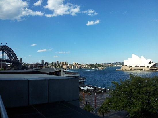 MCA Cafe: View from the cafe