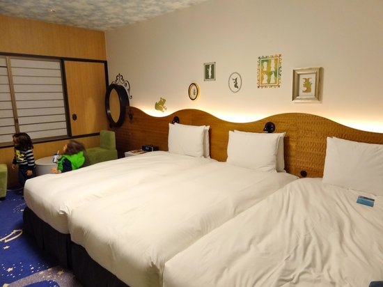 Celebrio floor 9 picture of hilton tokyo bay urayasu for Nice bedrooms for adults