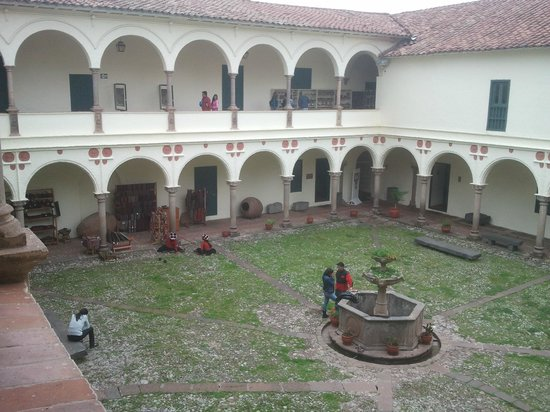 Museo Inka: The court yard
