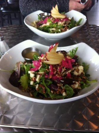 Bistro Forty-One: Delicious apple pecan salad!