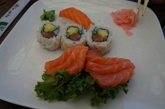 Catch of the day: Sushi de Entrada