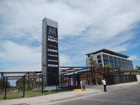 Esplendor Mendoza: Entrance