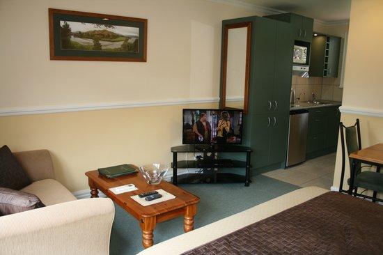 Alpine Springs Motel : Queen Spa bath studio