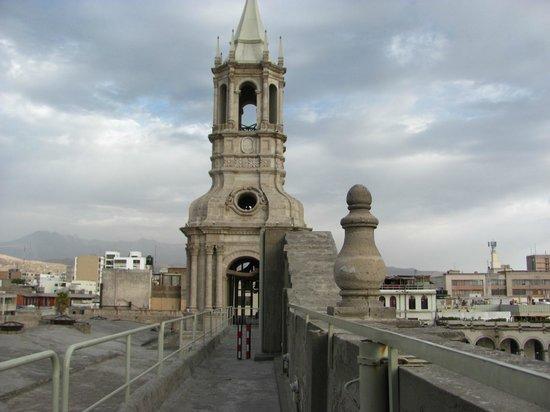Museo de la Catedral de Arequipa: MIRADOR DEL CAMPANARIO