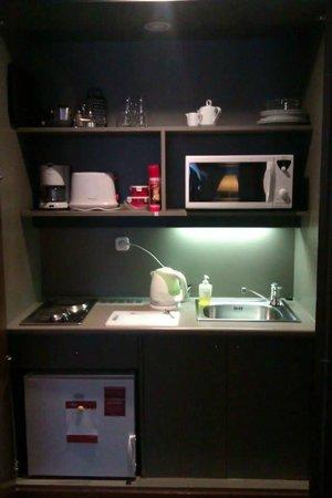 Adina Apartment Hotel Budapest: Kitchenette