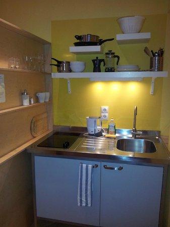 WANZ'inn Design Appartements: Cozinha