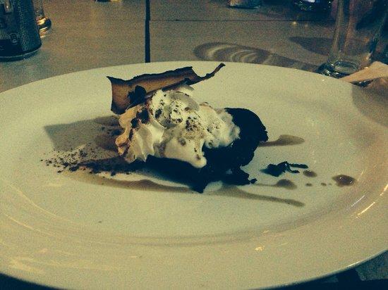Zoya: Dessert: home made chocolate cake
