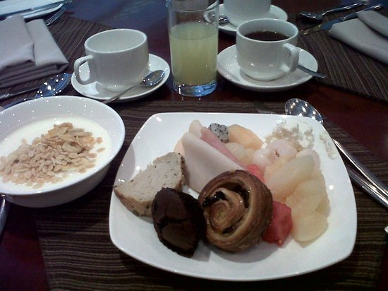 Guxiang Hotel Shanghai: cafe da manha