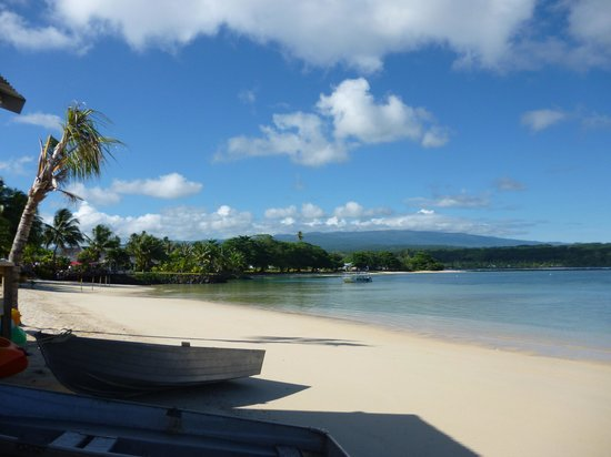Savaii Lagoon Resort: Beautiful Lagoon