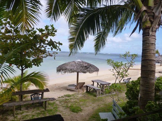 Savaii Lagoon Resort: view from Studio