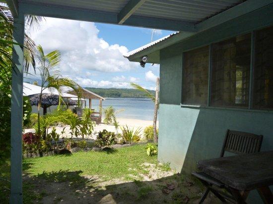 Savaii Lagoon Resort: No 7 view from verandah