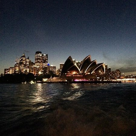 Sydney Ferries: View from the Ferry pulling out of Circular Quay
