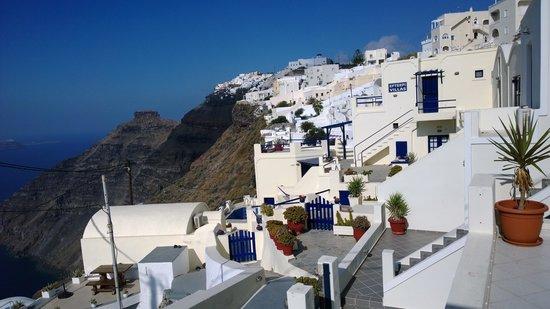 Dana Villas Hotel & Suites: View from Dana Villas