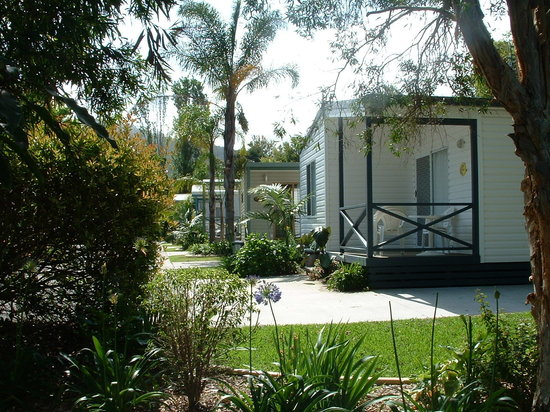 Coastal Palms Holiday Park : Self contained cabins