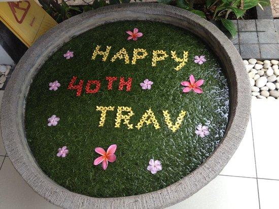 Bali Mandira Beach Resort & Spa: happy!