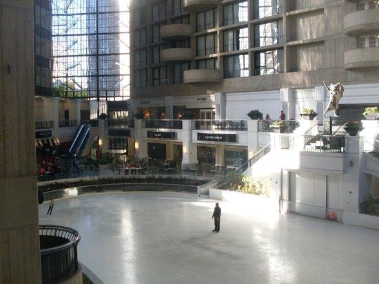 Dallas Marriott City Center: Pista de patinação