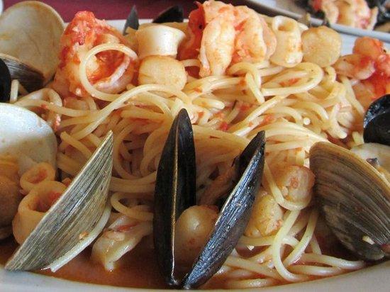 Toscania Trattoria: Spaghetti alla Scoglio
