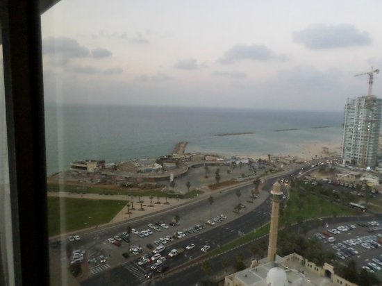 InterContinental David Tel Aviv: view from room