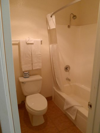 Econo Lodge Inn & Suites El Cajon San Diego East : bathroom