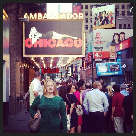 Chicago the Musical: On broadway at the ambassador theatre