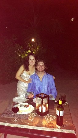 One&Only Reethi Rah : Birthday dinner at Fanditha!