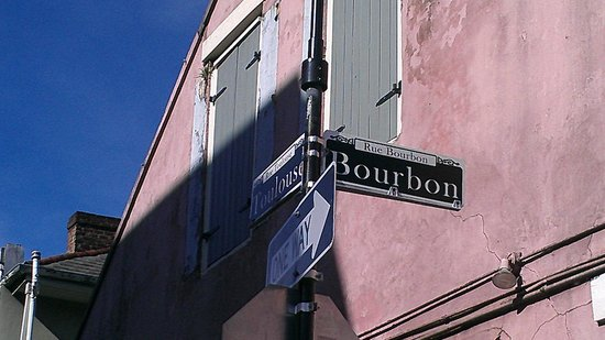 Hotel St. Marie : 1/2 of a block away from Bourbon Street