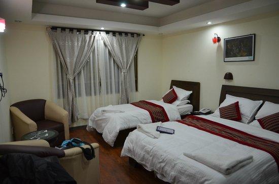Kathmandu Home Hotel: room