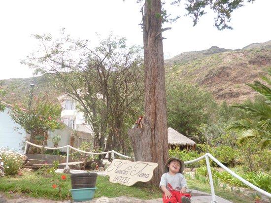 Nuestra Tierra Hotel : Mi hijito disfrutando las vacaciones