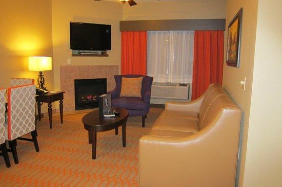 Bluegreen Odyssey Dells: Living room/dining room
