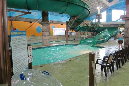 Bluegreen Odyssey Dells: water slide