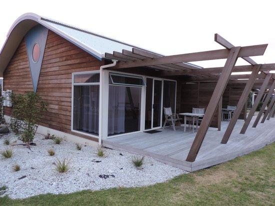 Papamoa Beach Resort: Our 2 BR unit