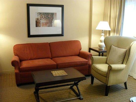 Sheraton Suites Plantation, Ft Lauderdale West: Living Room