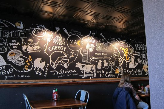 MACS- Macaroni and Cheese Shop: Nice Wall Decor