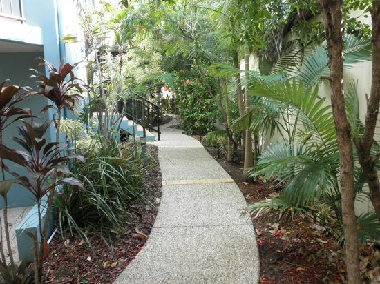 Twin Quays Noosa: Back pathway