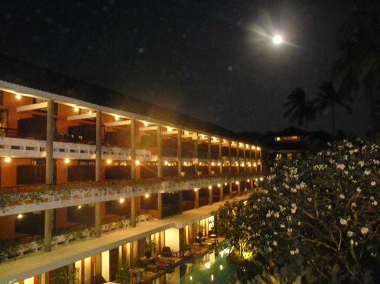 Melia Bali Indonesia : Once of the hotel's wings