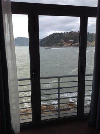 Hotel San Terenzo: vista dalla camera
