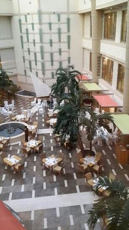 Marina Hotel: موقع الأفطار